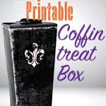 Free Printable Halloween Coffin Boxes!