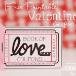 Mommy By Day, Crafter by Night Printable Love Coupons via Saynotsweetanne.com