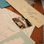 Some of the elements I cut out from my Wedding cards.
