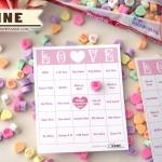 Conversation Heart B-I-N-G-O [Free Valentine Bingo Printable]