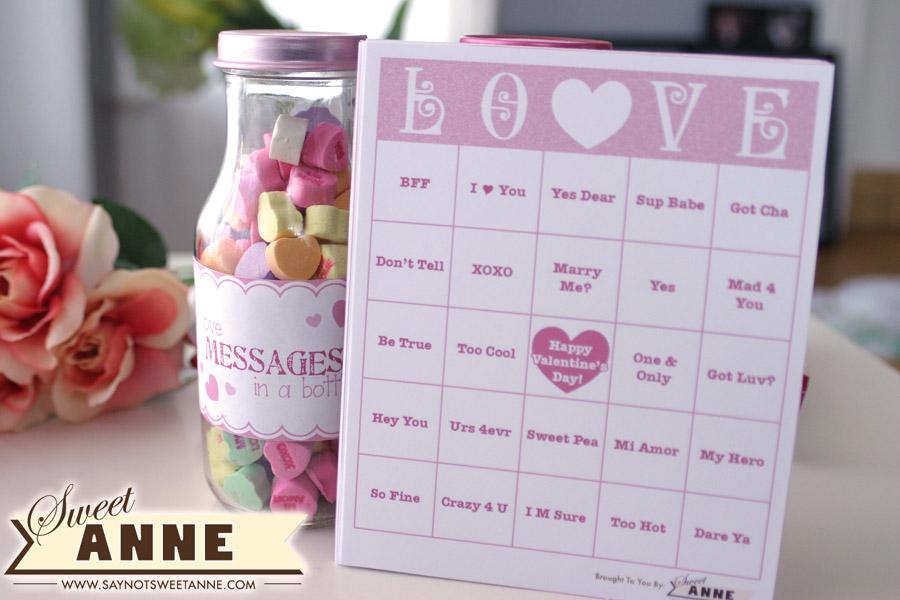 photo regarding Free Printable Valentine Bingo Cards named Free of charge Printable Valentine Bingo