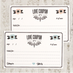 Love Vs. Design Printable Love Coupons via Saynotsweetanne.com