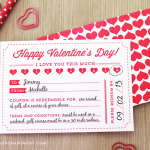 Elegance and Enchantment Printable Love Coupons via Saynotsweetanne.com