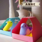 Little Peep Birdhouses! [Free Printable & Cutting File]