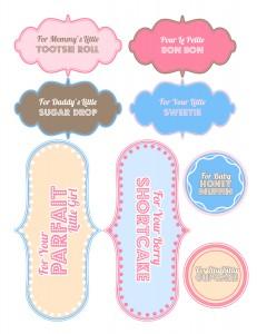 Baby Shower gift printable