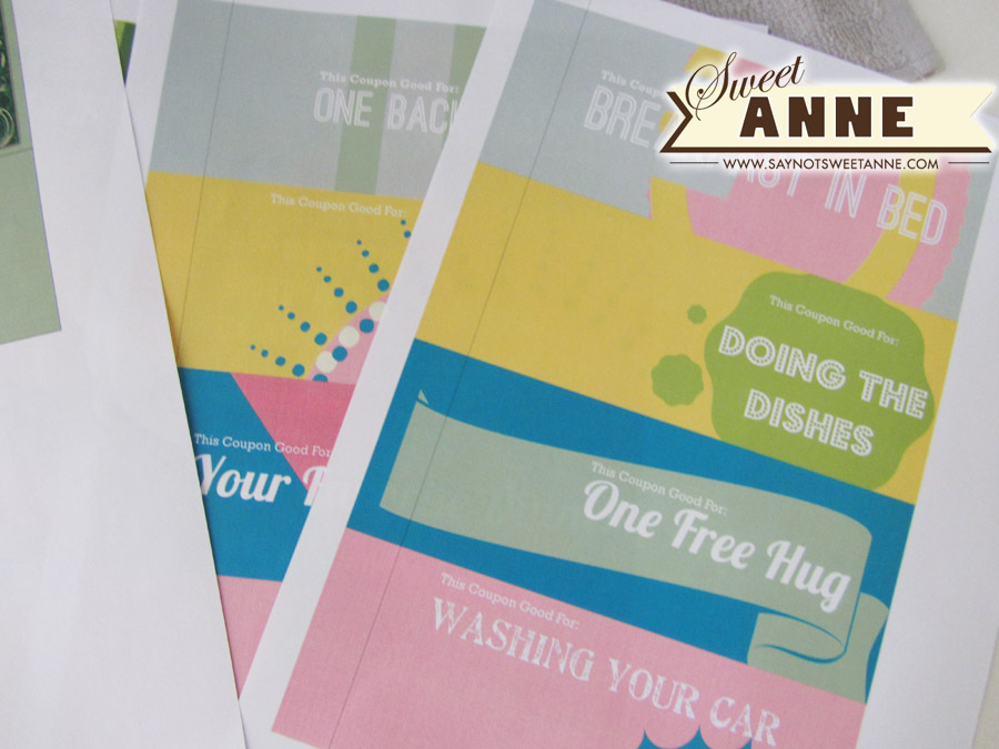 Mommy Bucks Tear Off Coupons Free Printable Sweet Anne Designs