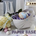 Paper Basket [Free Printable + Cutting File]