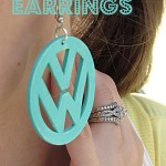 3D Paper Earrings