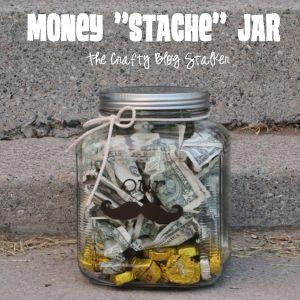 Wedding gift Money Jar