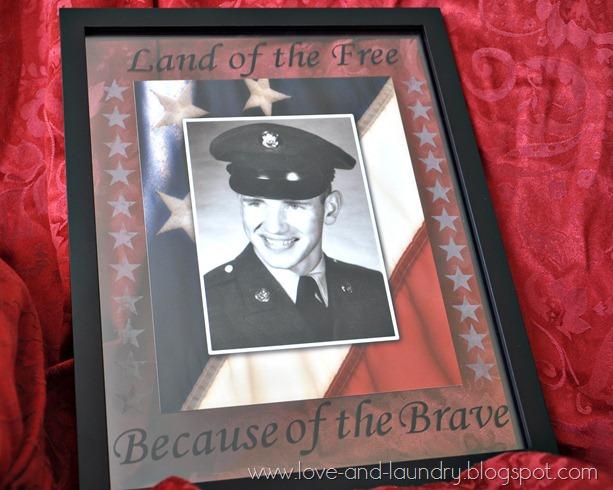 Patriotic Photo Frame
