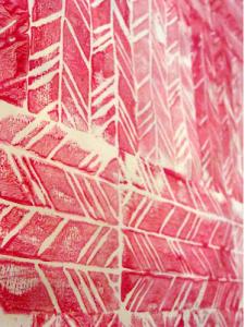 DIY art print with foam