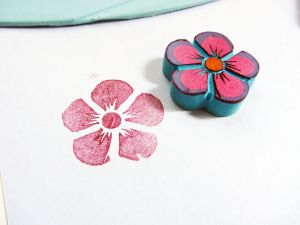 Easy DIY Eraser Stamps! $1 investment and tons of ideas! | saynotsweetanne.com