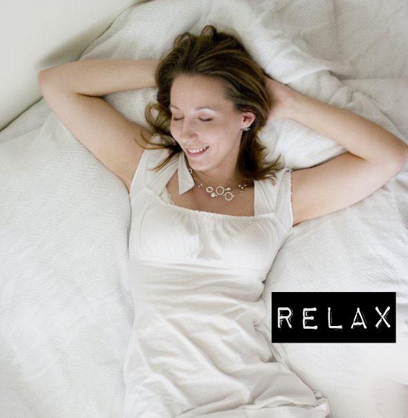 Me, relaxing.