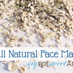 All Natural Pore Shrinking Mask {Wanna Be Wednesday} [Recipe]