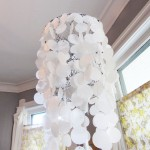 faux capis shell lamp