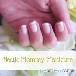 Easy Hectic Mommy Manicure