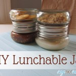 DIY Lunchable Jar [Free Printable]