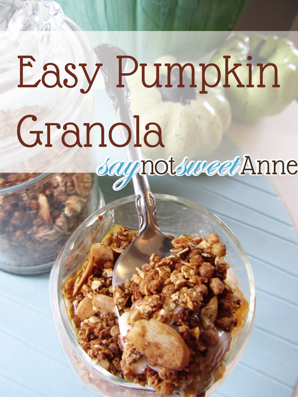 Pumpkin Pie Granola Recipe — Dishmaps