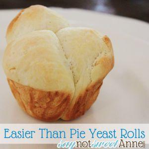 Easier Than Pie Yeast Rolls