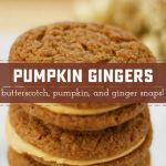 Filled Pumpkin Ginger Snaps