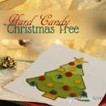 Hard Candy Christmas Tree [Free Printable}