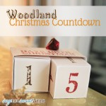 Woodland Christmas Countdown Blocks [Free Printable]