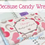 Just Because Candy Bar at SayNotSweetAnne.com