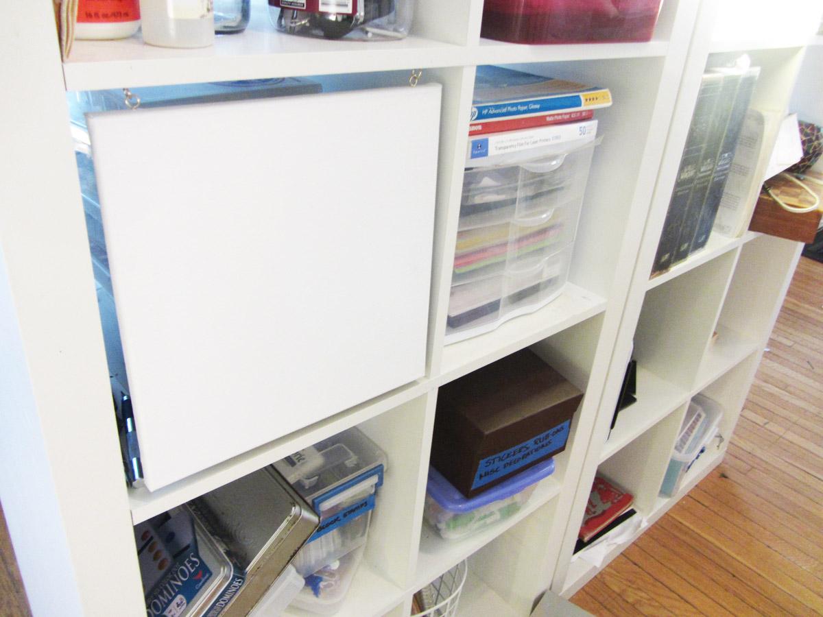 Now ... & Ikea Expedite $10 shelf doors - Sweet Anne Designs