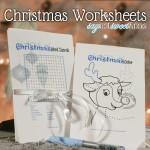Cute Christmas Worksheets [Free Printable]
