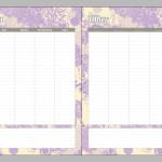 Free Printable Planner @saynotsweetanne.com!