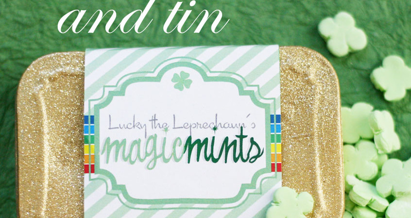 Make your own clover shaped mints at Saynotsweetanne.com