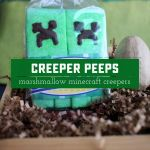 Marshmallow Creepers Peep Treats Recipe