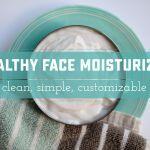 Blow Your Mind Healthy DIY Facial Moisturizer