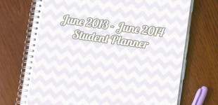 June to June Student Planner [2013 School Year]
