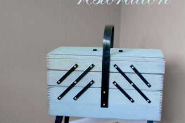 Restoring a Vintage Sewing Box