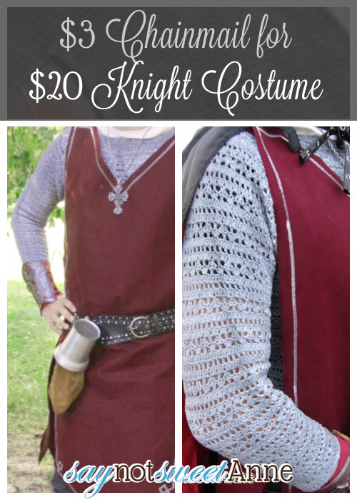 Diy knight costume for under 20 sweet anne designs diy knight costume for under 20 bucks saynotsweetanne costume solutioingenieria Gallery