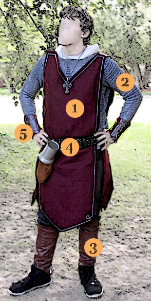 DIY Knight Costume - for only 20 dollars! | Saynotsweetanne.com | #halloween #costume #DIY #knight #renaissance #chainmail