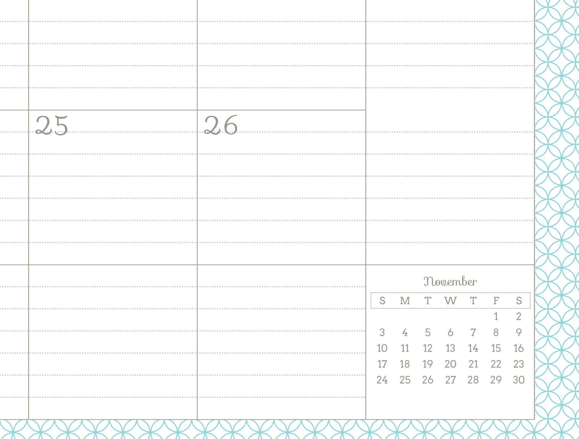 Monthly Planner Template 2014 Amazing printable planner!