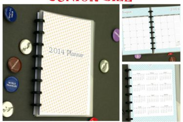 Amazing Printable Junior Sized Planner! Jan - Dec '14 with tons of choices! Meal planning, lesson planning, kid sport tracking etc! | from saynotsweetanne.com | #planner #printable #organize #student #meal #mommy #lesson