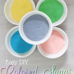 How to Make Colored Sugar (on the cheap!)