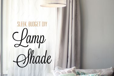 DIY Elegant Lamp Shade