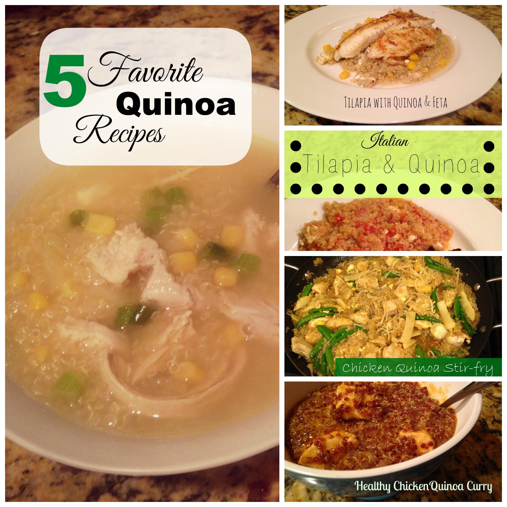5 favorite quinoa recipes