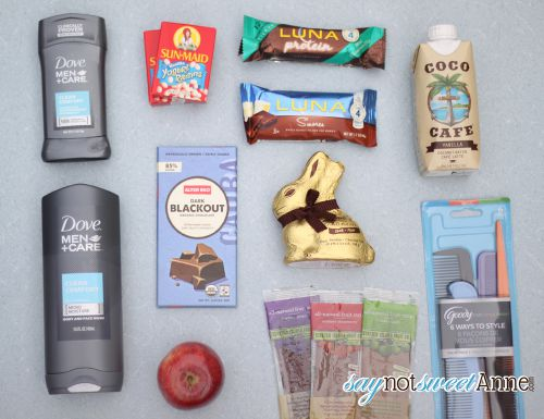 Healthier Easter Basket Options all for under $25 | saynotsweetanne.com | #Easter #DIY #Health #resolutions