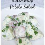 Green Goddess Buttermilk Potato Salad