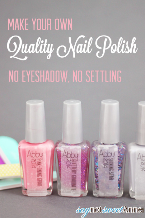 Quality DIY Nail Polish! - Sweet Anne Designs