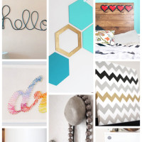 8 Hand-picked-by-a-teenager crafts for you and your teen this summer! | saynotsweetanne.com | #diy #teen #craft #decor #roundup