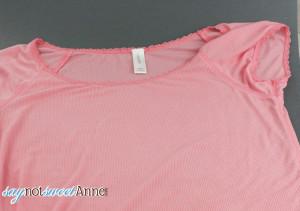 Quick and easy Tshirt upcycle with masking tape | Saynotsweetanne.com | #diy #ShapeTape #fashion