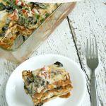 Layered Beef & Veggie Enchiladas
