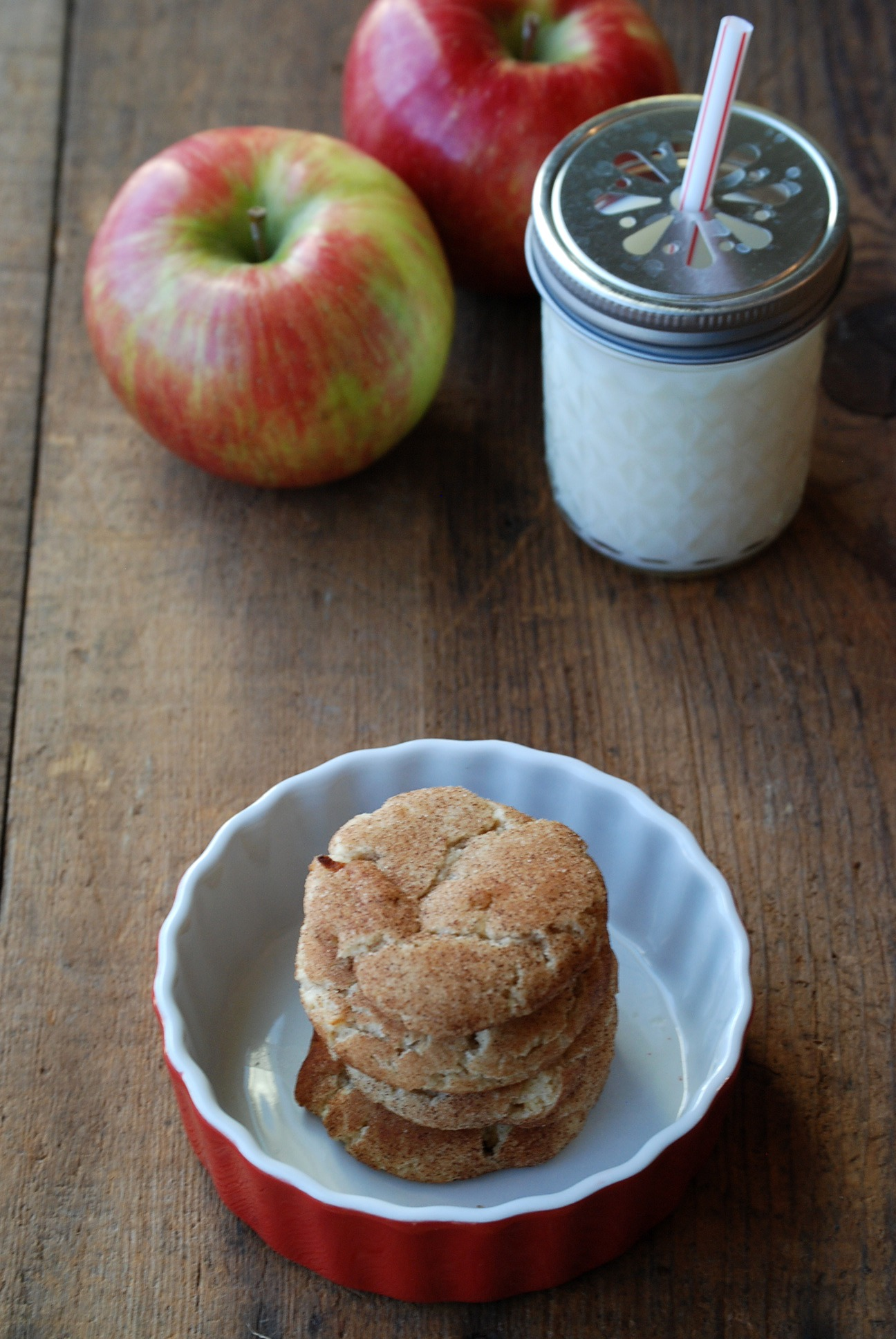 Apple Pie Snickerdoodles from Endlessly Inspired