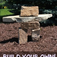 Inuksuk - Build your own! | By Momcrieff via SayNotSweetAnn.com | #Inuksuk| By Momcrieff via SayNotSweetAnn.com | #Inuksuk